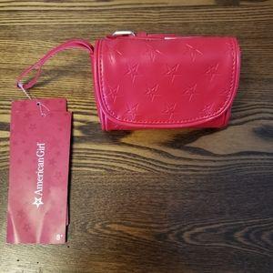 American Girl Red Hip Bag